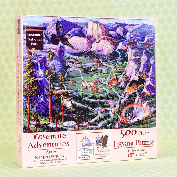 Yosemite Adventures 500 Piece Puzzle