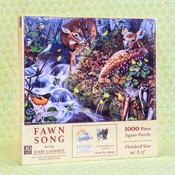 Fawn Song 1000 Piece Puzzle