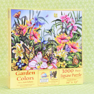 Garden Colors 1000 Piece Puzzle