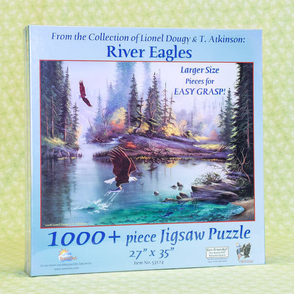 River Eagles 1000+ Piece Puzzle