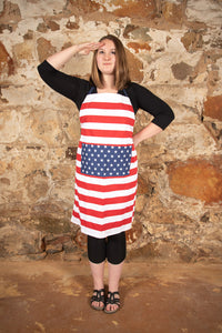 Apron Stars & Stripes