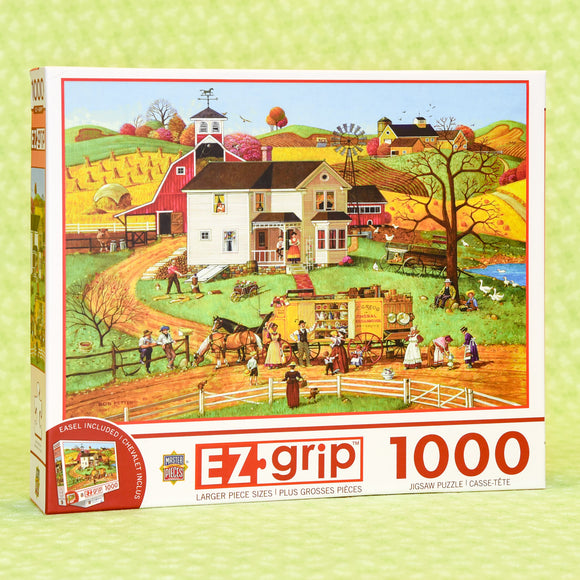 Traveling Man 1000 Piece Puzzle