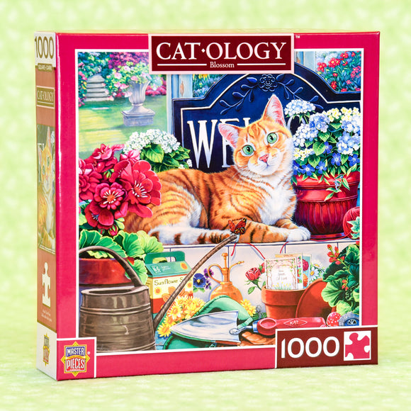 Blossom (Cat) 1000 Piece Puzzle