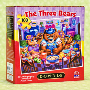 The Three Bears 100 Piece Puzzle