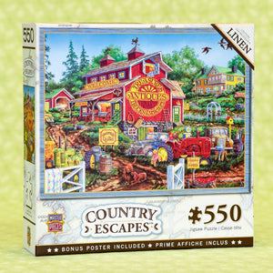 Antique Barn 550 Piece Puzzle