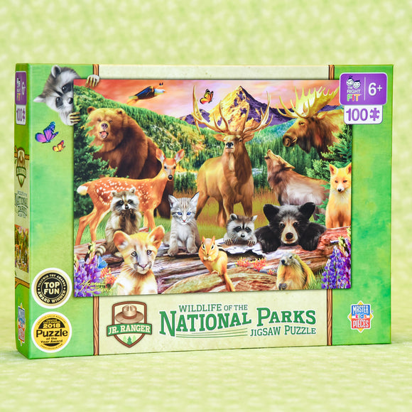 Wildlife of the National Parks 100 Piece Puzzle
