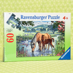 Mother & Foal 60 Piece Puzzle