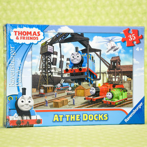 At The Docks 35 Piece Puzzle - Thomas & Friends