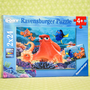 Finding Dory 2X24 Piece Puzzle - Always Swimming