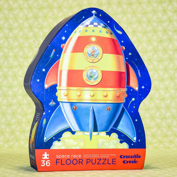 Space Race 36 Piece Floor Puzzle