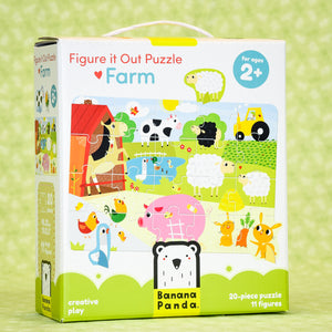 Farm 20 Piece Puzzle - Figure it Out
