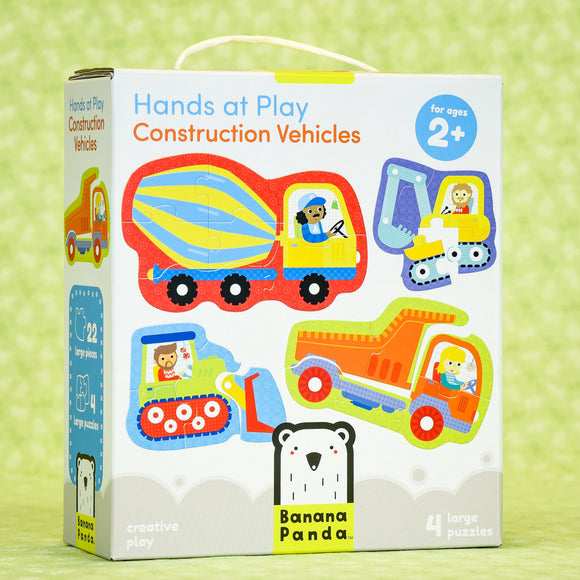 Construction Puzzles - Hands at Play