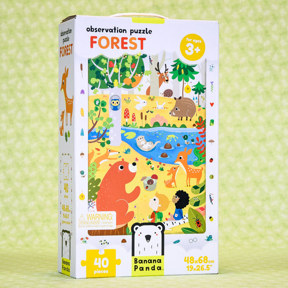 Forest 40 Piece Puzzle - Observation