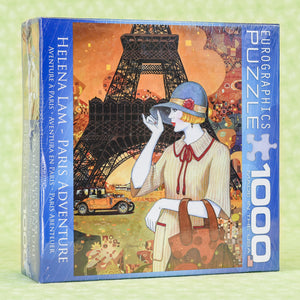 Paris Adventure 1000 Piece Puzzle