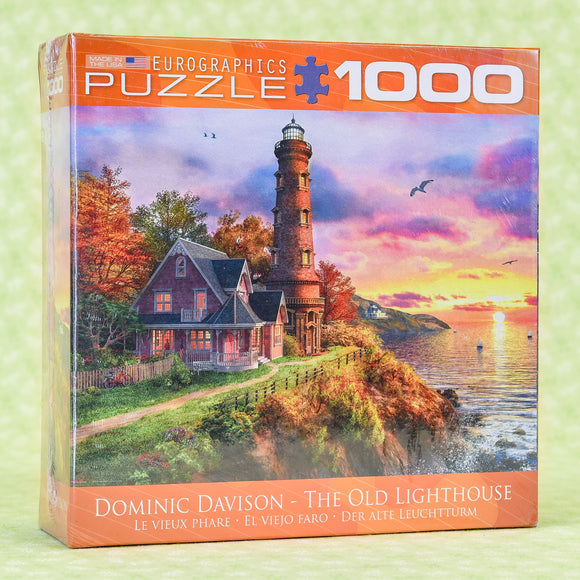 The Old Lighthouse 1000 Piece Puzzle