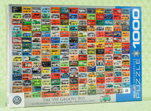 The VW Groovy Bus 1000 Piece Puzzle