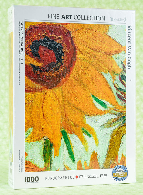Sunflower 1000 Piece Puzzle - Van Gogh