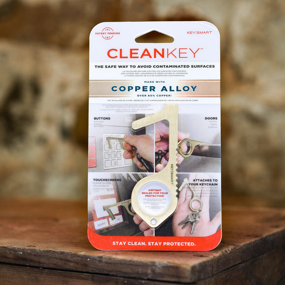 Clean Key - Copper & Brass alloy