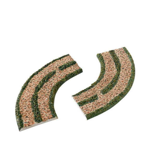 Woodland Road, Curved - Set of 2 (retired)