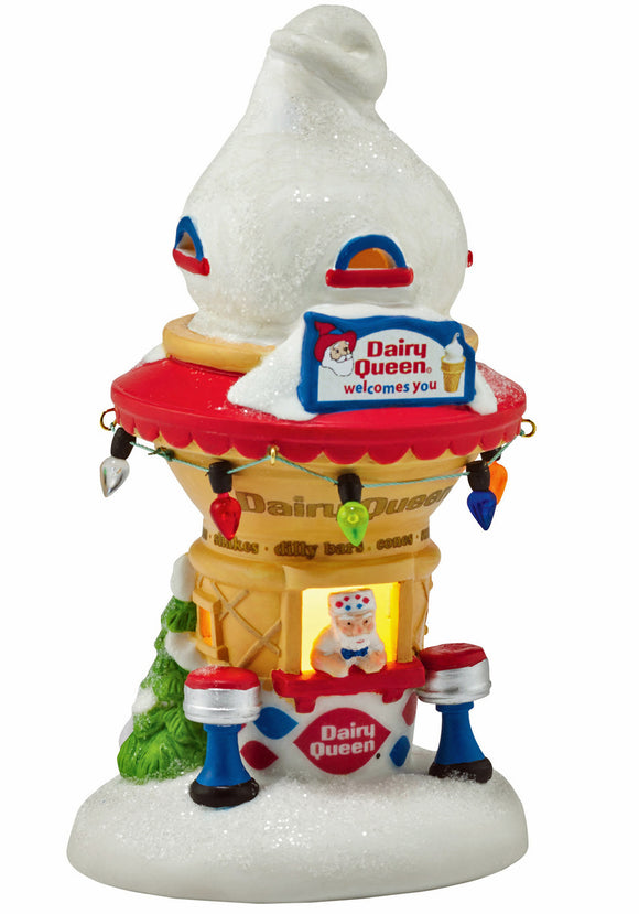 North Pole Santa's Dairy Queen Cone House (retired)