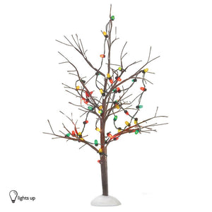 Lighted Xmas Bare Branch Tree