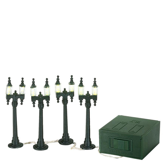 Double Street Lamps - Set of 4