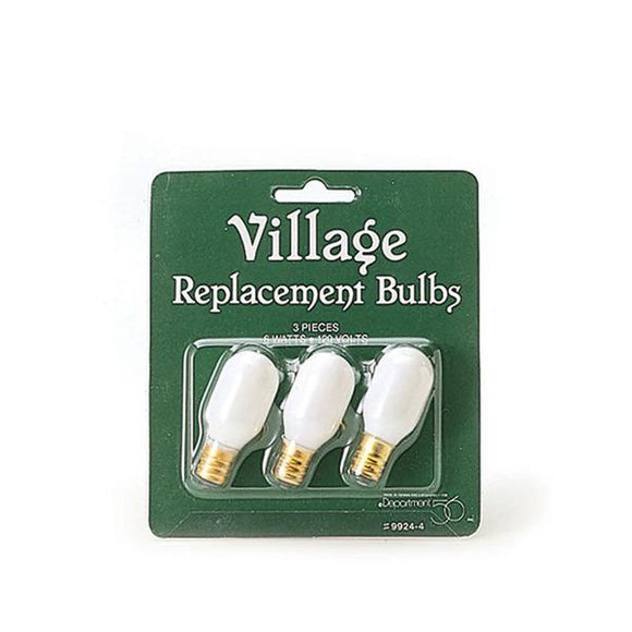 Replacement Light Bulb 120V - Set of 3