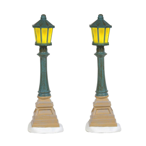 Christmas Street Lanterns - Set of 2