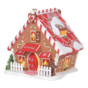 North Pole Ginger's Cottage - Gingerbread Lane