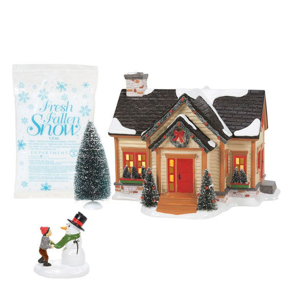 Building Christmas Cheer - Set of 4