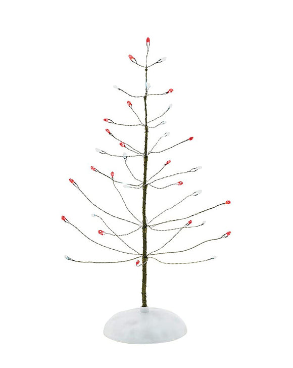 Red and White Twinkle Brite Tree