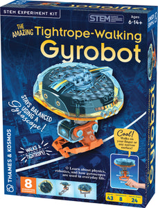 The Amazing Tightrope-Walking Gyrobot - STEM Experiment Kit