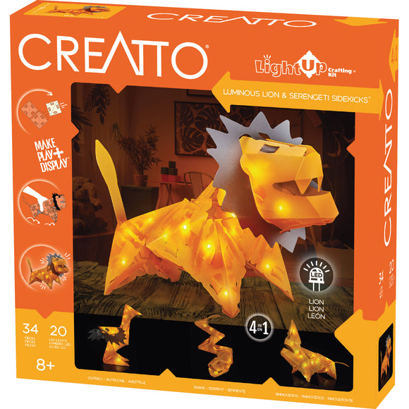 Creatto - Luminous Lion & Serengeti Sidekicks