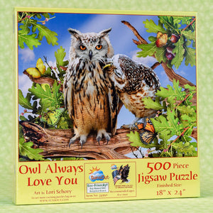 Owl Always Love You 500 Piece Puzzle