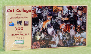 Cat Collage 300 Piece Puzzle
