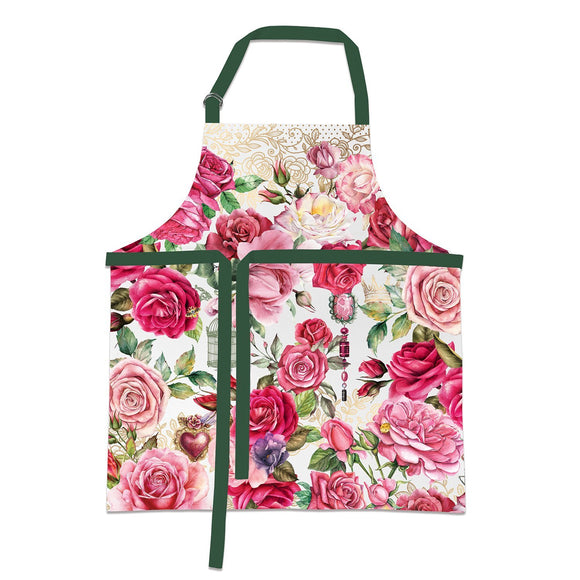 Apron - Royal Rose