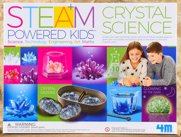 STEAM Powered Kids - Crystal Science