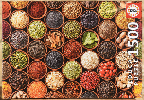 Herbs & Spices 1500 Piece Puzzle