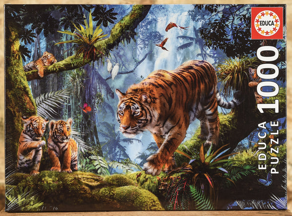 Tigers in the Tree 1000 Piece Puzzle