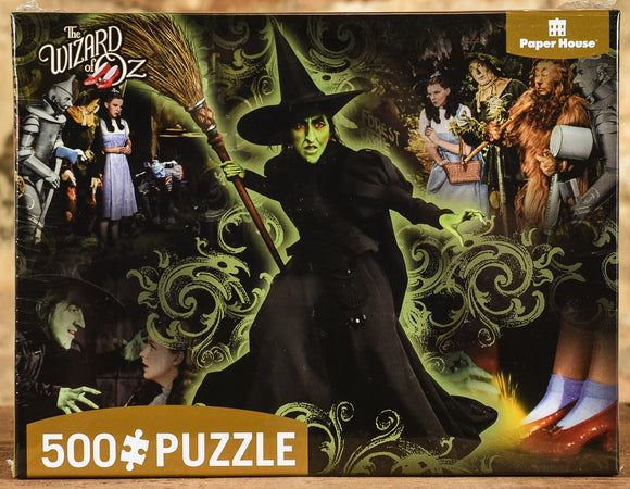 Wicked Witch 500 Piece Puzzle