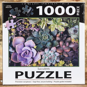 Succulents - 1000 Piece Puzzle