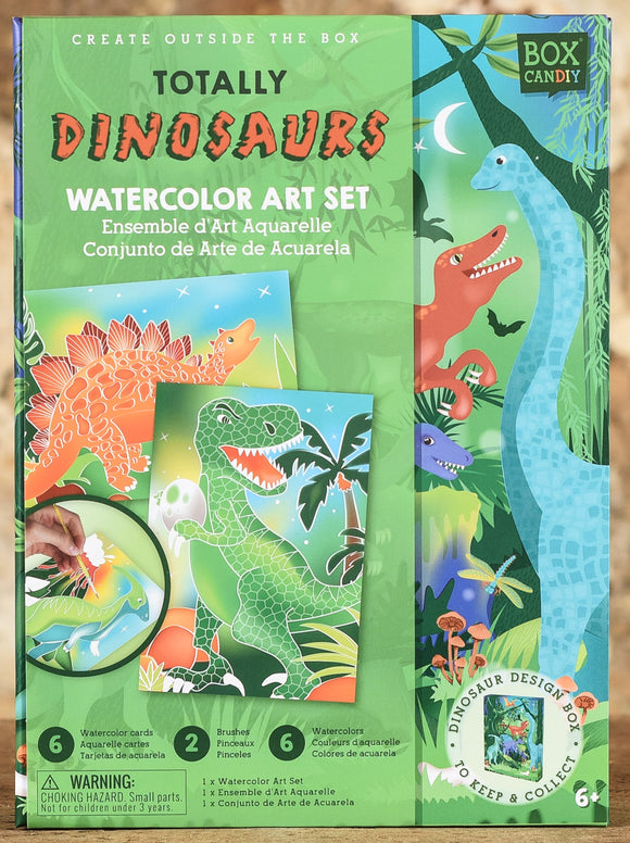 Totally Dinosaurs Watercolor Art Set
