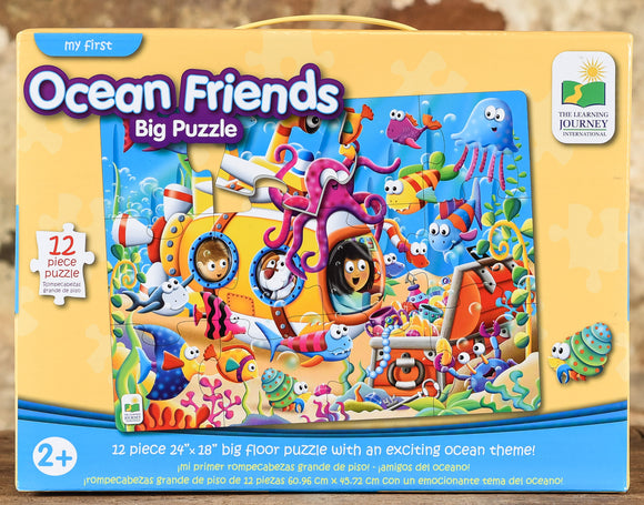 Ocean Friends - 12 Piece Big Floor Puzzle