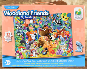 Woodland Friends - 12 Piece Big Floor Puzzle