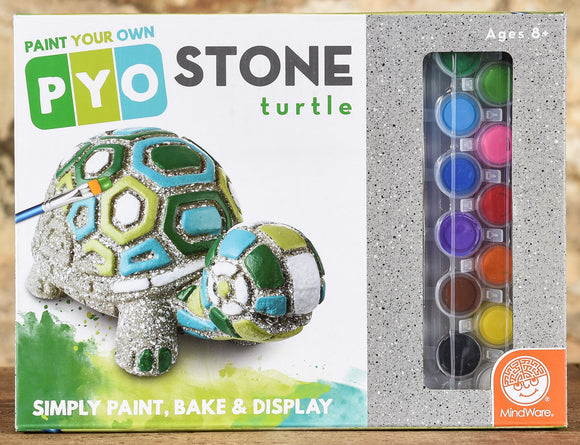Paint Your Own - Stone Turtle