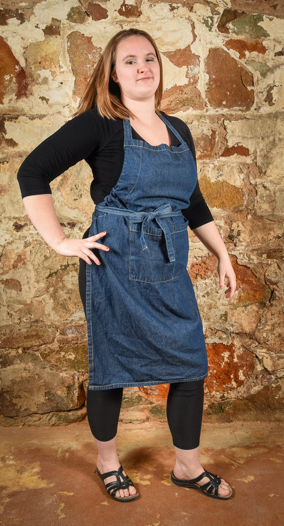 Apron Chef's Denim