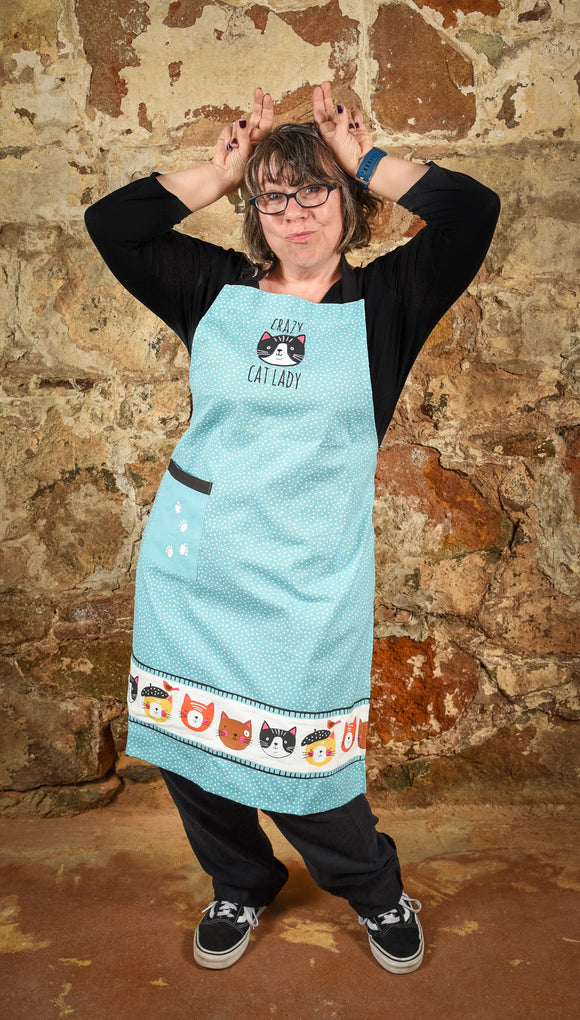 Apron Crazy Cat Chef