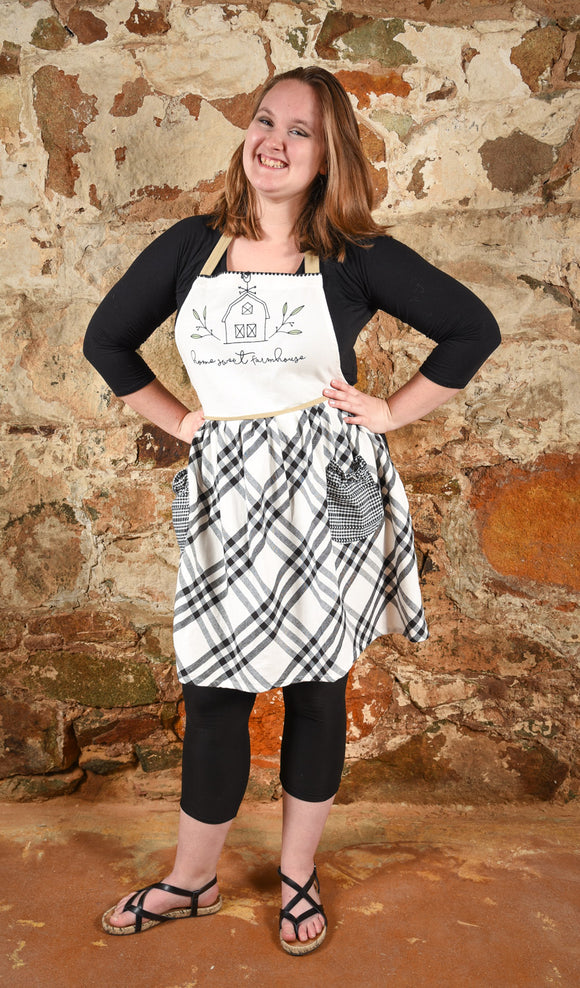 Apron Home Sweet Farmhouse Foothill Mercantile