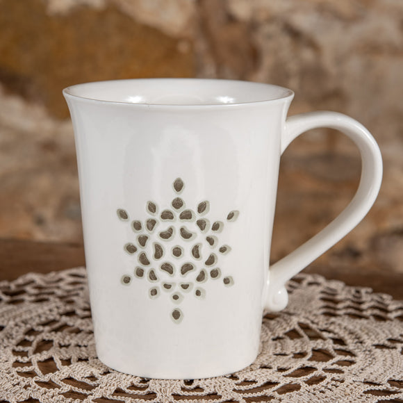 Rice Grain Porcelain Cup