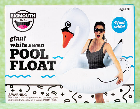 Pool Float Giant White Swan